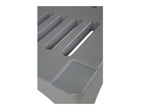 XXLselect Dunnage Rack / Rack - 121x56x30cm - Grey