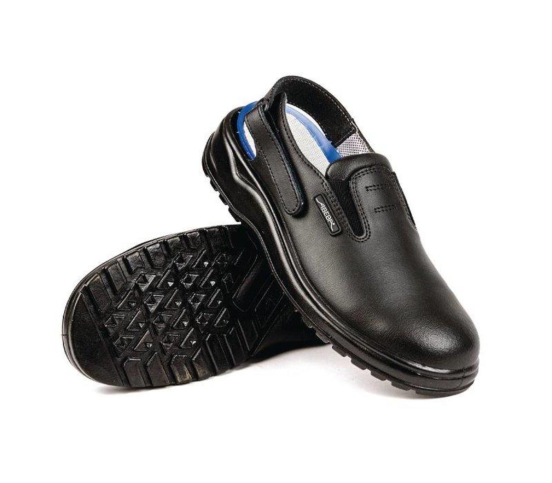 XXLselect Abeba Sicherheit Clogs - schwarz - erhältlich in zwölf Größen - Unisex
