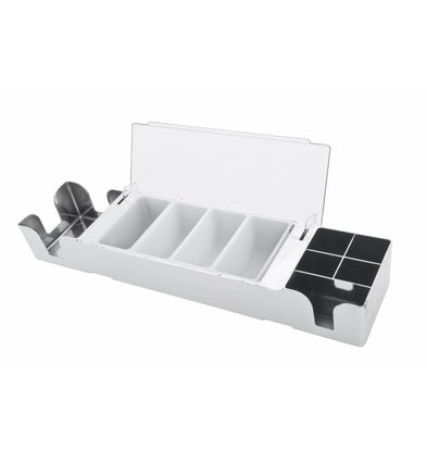 Bar Professional Barstation Chrome | 6 Boxen