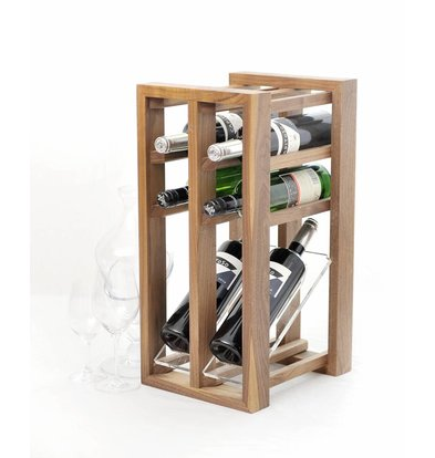 Bar Professional Wine rack display - designed for six bottles