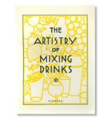 XXLselect Artistry of Mixing Drinks - Frank Meier - Cocktail Book