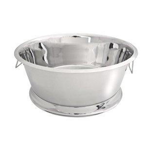 XXLselect Wine Bowl Portofino - Single walled Edelstahl - ø55cm x 23 (H) cm