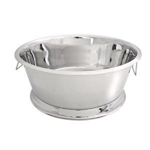 XXLselect Wine Bowl Portofino - Single walled stainless steel - Ø55cm x 23 (H) cm