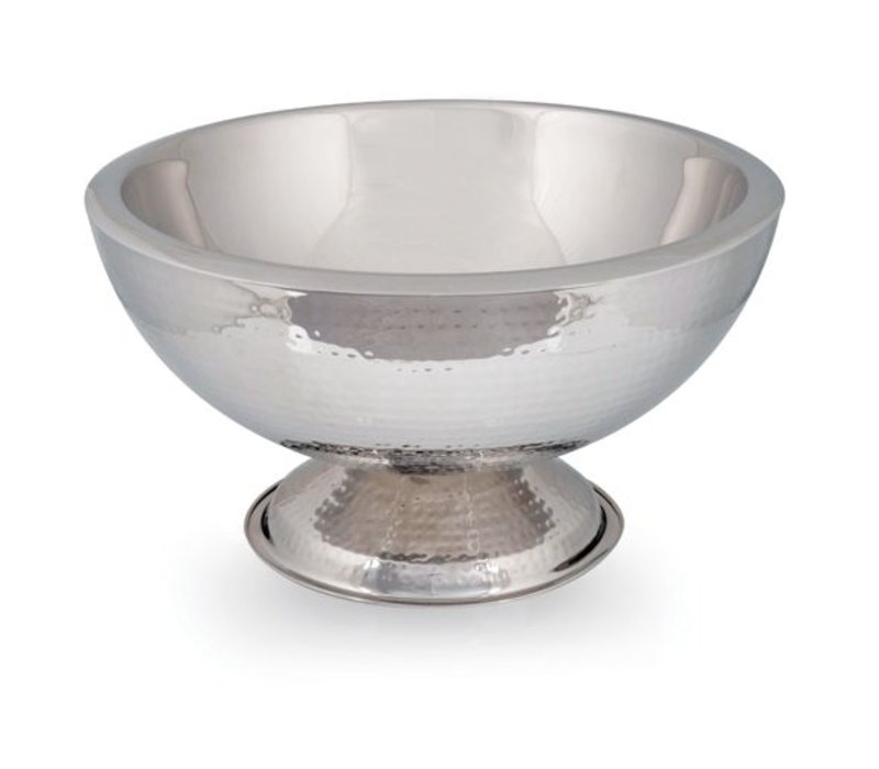 XXLselect Champagne Bowl Como - Double walled stainless steel - Ø43cm x 24 (H) cm
