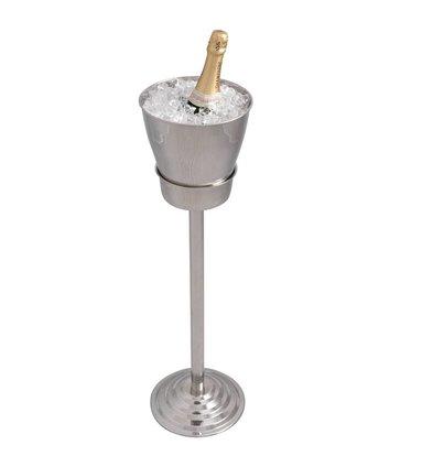 XXLselect Wijnkoeler op standaard Palaia - enkelwandig - 21 x 84(h)cm