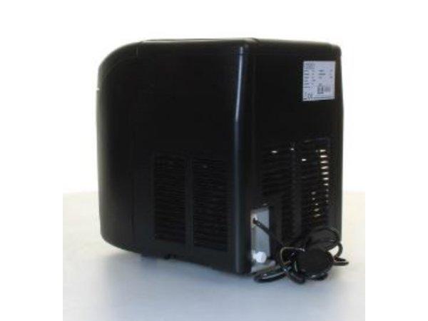 Polar IJsblokjesmachine Zwart - 3 Instelbare Maten - 10 kg/24u - 2 jaar garantie