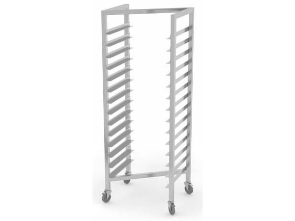 XXLselect Regaalwagen Tailor - All types of Stainless Steel Trolleys available in any size