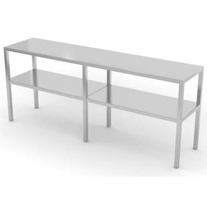 XXLselect Stainless Steel Cake Stand on Size - All types of Stainless Steel Overshelves available in any size
