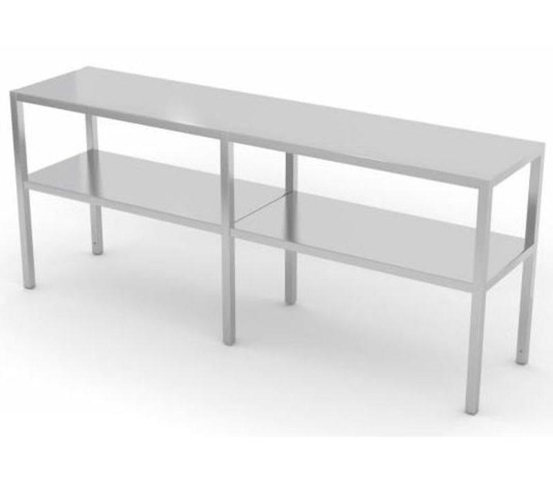 XXLselect Edelstahl-Kuchen-Standplatz auf Größe - alle Arten von Edelstahl-Aufsatzborde in jeder Größe