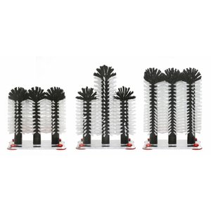XXLselect Flush Pinsel Aluminiumfuß drei Teilen - 3x18cm