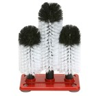 XXLselect Brush Rinse plastic foot 3-piece - 3x25cm