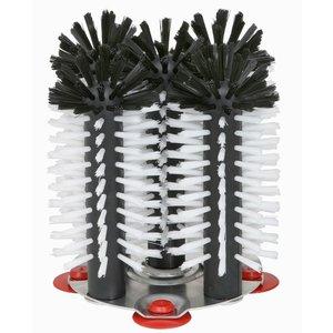 XXLselect Spoelborstel aluminium voet 5-delig - 5x18cm
