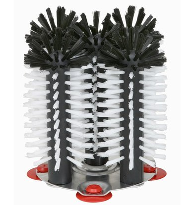 XXLselect Flush Pinsel Aluminium-Basis 5-teilig - 5x18cm