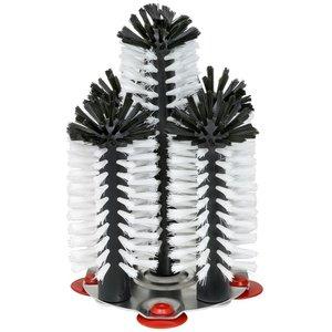XXLselect Spoelborstel aluminium voet 5-delig - 4x18+1x25