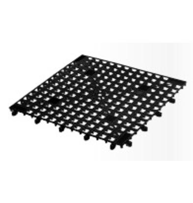 Bar Professional Schaltbare Glasmatte - 33x33cm Schwarz