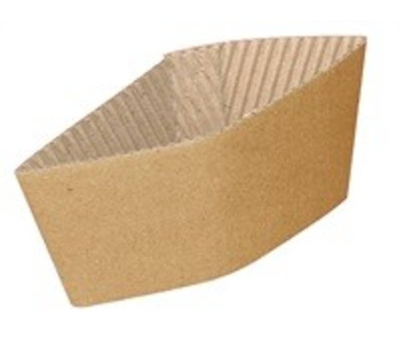 XXLselect Corrugated Cup holders - 350ml / 455 - Disposable - Quantity 1000