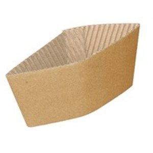 XXLselect Corrugated Cup holders - 230ml - Disposable - Quantity 1000