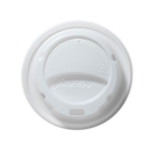 XXLselect Milano lid - White - 23cl - Disposable - Quantity 1000