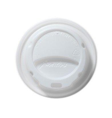 XXLselect Milano Deksel - Wit - 23cl - Disposable - Aantal stuks 1000