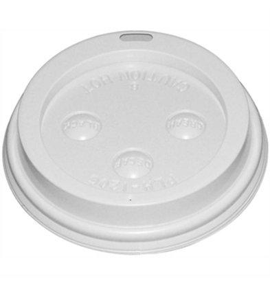 XXLselect Hot cups Deksel - 34/35cl - Disposable - Aantal stuks 1000