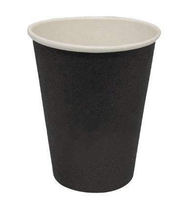 XXLselect Hot cups Beker - Zwart - 45cl - Disposable - Aantal stuks 1000