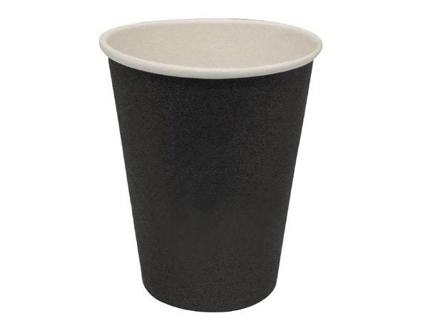 XXLselect Hot cups Cup - Black - 23cl - Disposable - Quantity 50