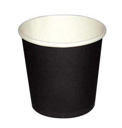 Olympia Espressotasse - Schwarz - 11CL - Einweg - Nummer 50 Stück