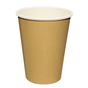 XXLselect Hot cups Beker - Lichtbruin - 23cl - Disposable - Aantal stuks 1000