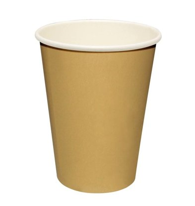XXLselect Hot cups Beker - Lichtbruin - 23cl - Disposable - Aantal stuks 1000