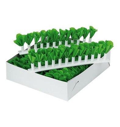 XXLselect Grüne Dekoration - Kunststoffstreifen - 10 Stück