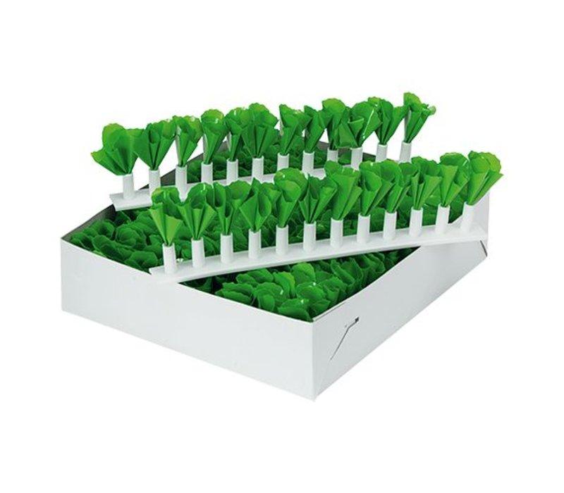 XXLselect Green decoration - Plastic Strip - 10 pieces
