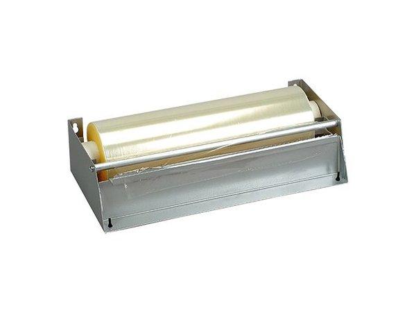 XXLselect Foil packaging dispenser Stainless steel - 45cm