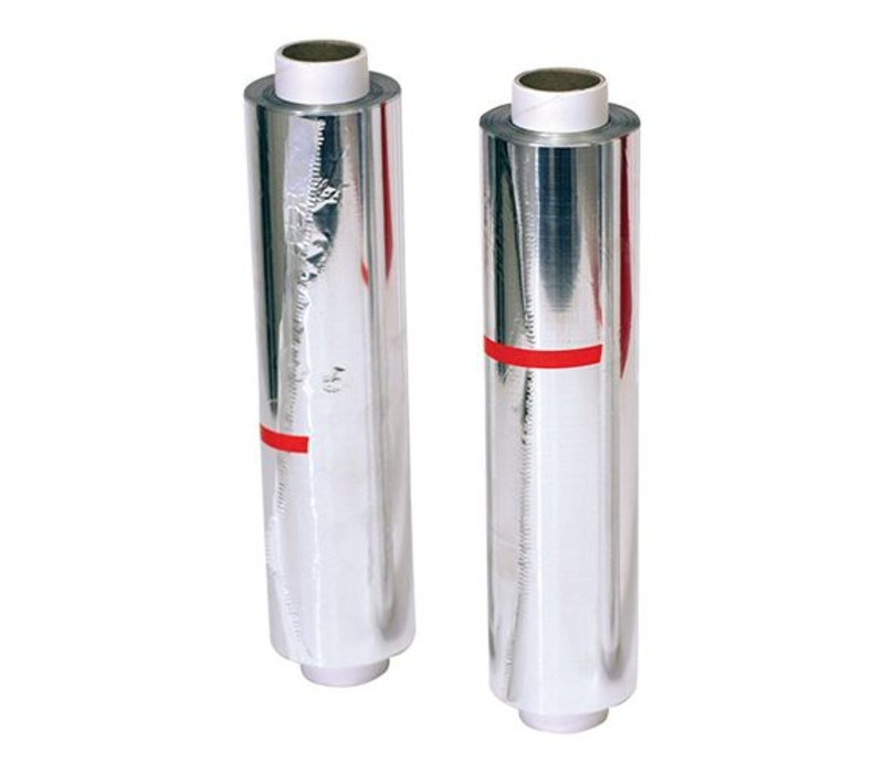XXLselect Aluminiumfolienrolle Extra stark - Carton Dispenser - 40 cm - 200 Meter
