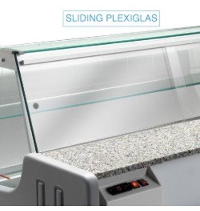 Diamond Afsluitglas - 2000mm