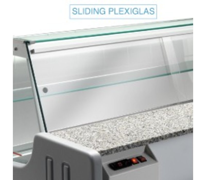 Diamond Halt die Glass - 2000mm