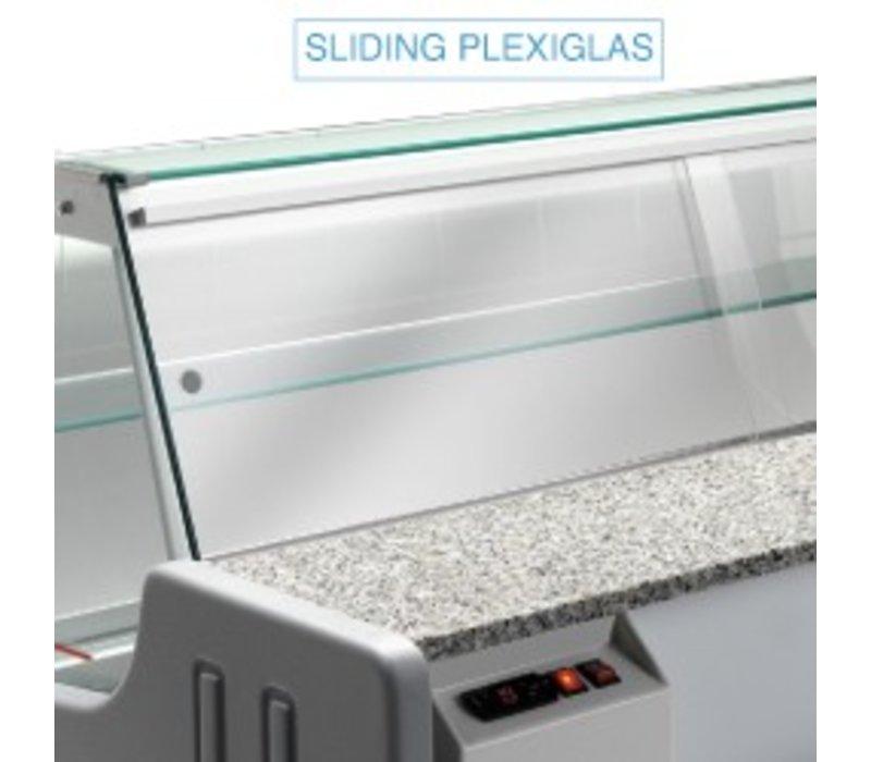Diamond Shut Glass - 2000mm