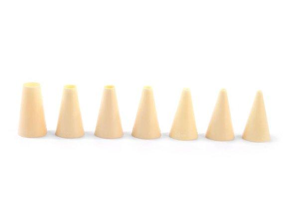 Hendi Düsen | Set 7 Stück | Glatte Nylon | Ø4,6,8,10,12,14,16mm