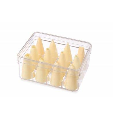 Hendi Spuitmondjes Nylon | Doos 12 Stuks | Ø6,8,10,12mm