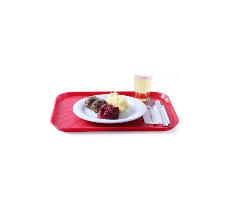 Hendi Dienblad Horeca FASTFOOD | Polypropyleen + Stapelbaar | 350x450mm | KIES UIT 6 KLEUREN
