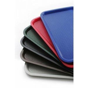 Hendi Catering Tablett FAST FOOD | Polypropylen + Stackable | 350x450mm | Wählen Sie aus 6 FARBEN
