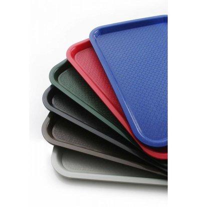 Hendi Tablett Fast Food | Polypropylen + Stackable | 350x450mm | Wählen Sie aus 6 FARBEN