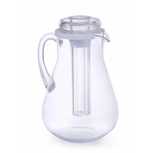 Hendi Belly jug Model MS | 3 Liter | With Ice Tube | Ø150x (H) 290mm