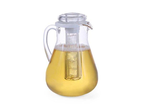 Hendi Belly jug Model MS | 3 Liter | With Ice Tube | Ø150x (H) 290mm