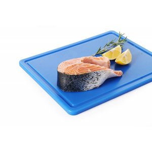 Hendi Cutting boards HACCP - 265x325x12mm - GN 1/2 - with sap drain - 6 COLOURS