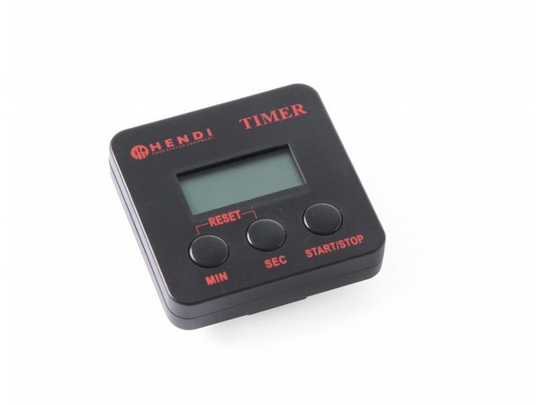 Hendi Digital kitchen timer 67x67 mm - with magnetic clip