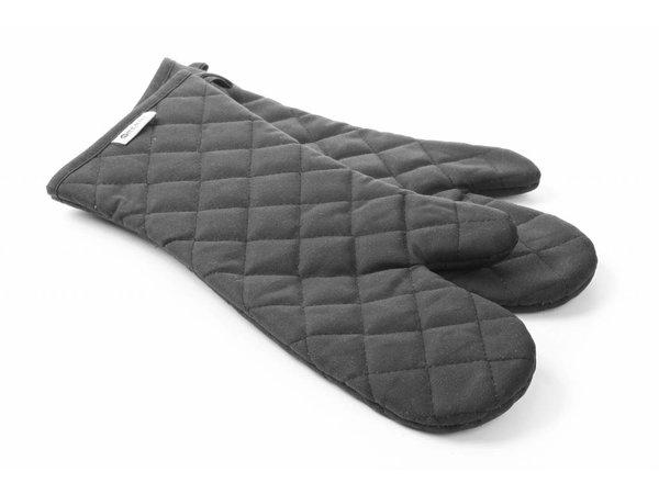 Hendi Oven mitts - flame retardant cotton 250 degrees