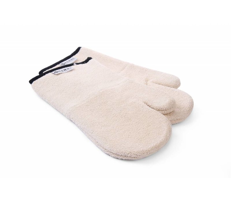 Hendi Oven Mitts set 2 pieces - heat resistant up to 250 degrees