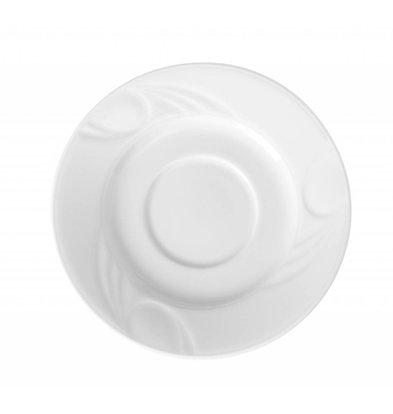 Hendi Schotel - Karizma - Ø125mm - voor kop 90 ml wit porselein