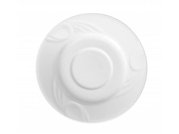 Hendi Dish - Karizma - Ø125mm - für Tasse 90 ml weißem Porzellan