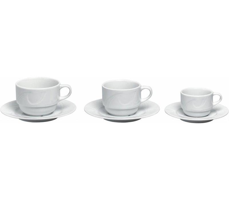 Hendi Cup - 90 ml - Karizma - 63x80x44 mm - Weiß - Porzellan